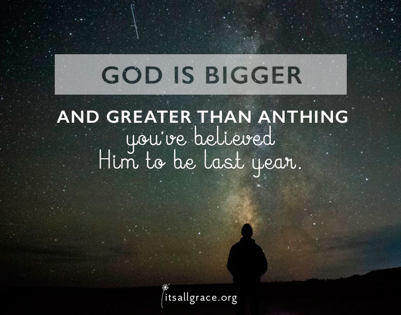 God is Bigger and Greater